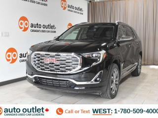 Used 2018 GMC Terrain Denali, 2.0L I4, Turbo, Awd, Navigation, Leather heated front & rear seats, Backup camera, Sunroof/Moonroof, Bluetooth for sale in Edmonton, AB