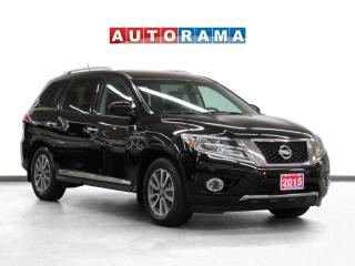 Used 2015 Nissan Pathfinder SL Tech 4WD Navigation Leather Sunroof B-Cam 7Pass for sale in Toronto, ON
