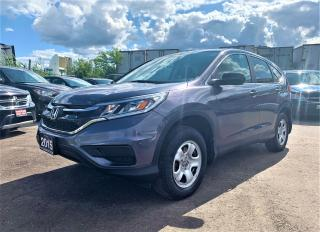 Used 2015 Honda CR-V LX for sale in Brampton, ON