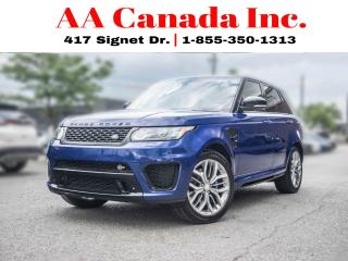 Used 2015 Land Rover Range Rover Sport SVR | CARBON FIBER | 550HP for sale in Toronto, ON