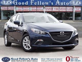 Used 2014 Mazda MAZDA3 GS MODEL, SKYACTIV, SUNROOF, REARVIEW CAMERA for sale in Toronto, ON