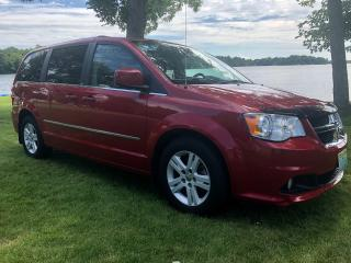 Used 2013 Dodge Grand Caravan Crew with only 98150 km has been sold for sale in Perth, ON
