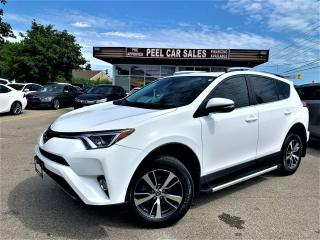 Used 2017 Toyota RAV4 XLE|SUNROOF|ALLOYS|AWD|REARVIEW|WHITEONBLK for sale in Mississauga, ON