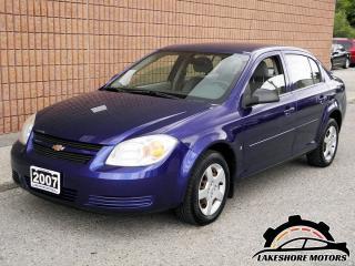 Used 2007 Chevrolet Cobalt LS || CERTIFIED || LOW KMS for sale in Waterloo, ON