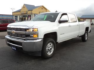 Used 2018 Chevrolet Silverado 2500 LT CrewCab 4x4 6.0L 8ft Box BackUpCamera for sale in Brantford, ON