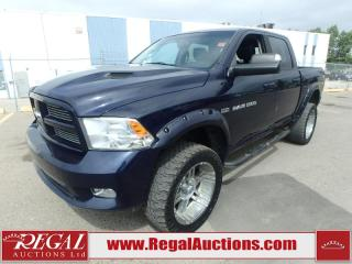 Used 2012 RAM 1500 Sport Crew Cab SWB 4WD 5.7L for sale in Calgary, AB
