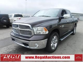 Used 2017 RAM 1500 BIG HORN 4D CREW CAB 4WD 5.7L for sale in Calgary, AB