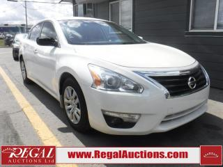 Used 2015 Nissan Altima S 4D Sedan for sale in Calgary, AB