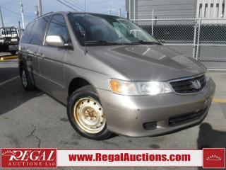 Used 2003 Honda Odyssey 4D WAGON for sale in Calgary, AB