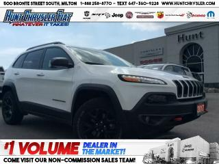 Used 2017 Jeep Cherokee TRAILHAWK | 4X4 | LEATHER PLUS | TOW | TECH | SAFE for sale in Milton, ON