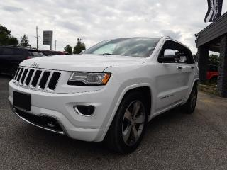 Used 2015 Jeep Grand Cherokee Overland for sale in Bracebridge, ON