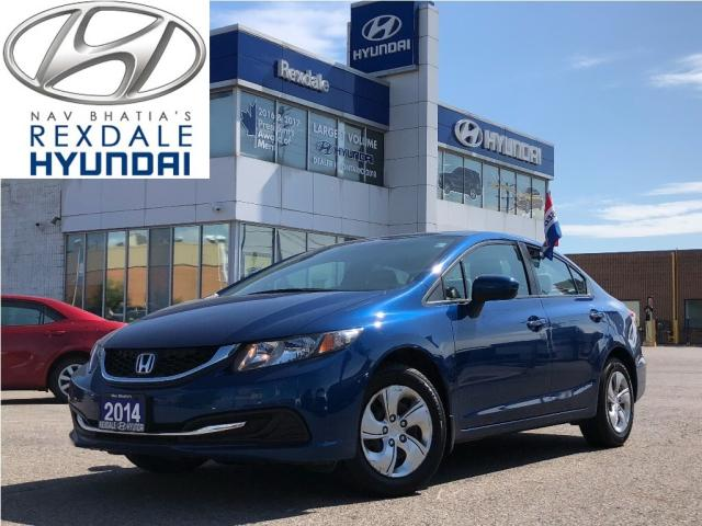 2014 Honda Civic Sedan 2014 Honda Civic Sedan - 4dr CVT LX