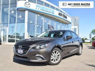 Used 2015 Mazda MAZDA3 GS|ONE OWNER|NO ACCIDENTS|1.99%FINANCE AVAILABLE for sale in Mississauga, ON