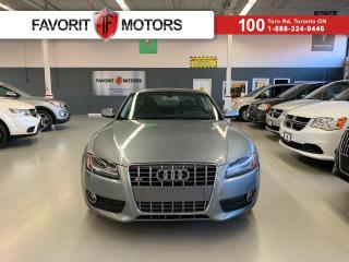 Used 2010 Audi A5 2.0T **CERTIFIED!** |LEATHER|SUNROOF|B&O SOUND|+++ for sale in North York, ON