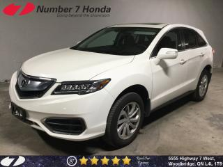 Used 2018 Acura RDX Tech| Navi| Leather| Backup Cam| for sale in Woodbridge, ON