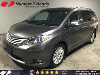 Used 2016 Toyota Sienna XLE Limited| Loaded| Leather| Navi| DVD| for sale in Woodbridge, ON