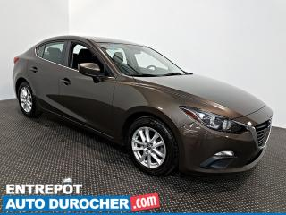 Used 2015 Mazda MAZDA3 GS - AUTOMATIQUE - AIR CLIMATISÉ - JANTES for sale in Laval, QC