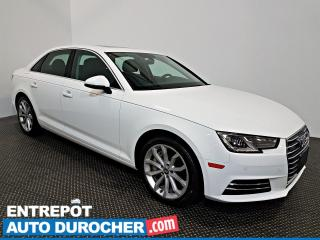 Used 2017 Audi A4 Progressiv 4X4 - NAVIGATION - TOIT OUVRANT - CUIR for sale in Laval, QC