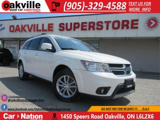 Used 2015 Dodge Journey SXT | BLUETOOTH | KEYLESS ENTRY | SEATS 7 for sale in Oakville, ON