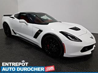 Used 2019 Chevrolet Corvette Z06 3LZ Automatique - NAVIGATION - T- TOP - CUIR for sale in Laval, QC