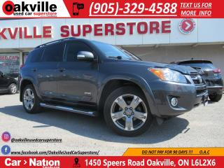Used 2012 Toyota RAV4 Sport V6 4WD | BLUETOOTH | NAV | VERY LOW KM for sale in Oakville, ON