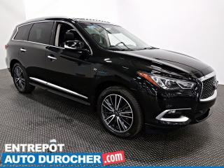 Used 2016 Infiniti QX60 AWD Premium NAVIGATION Toit Ouvrant - A/C - Cuir for sale in Laval, QC