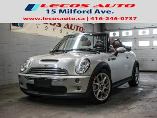 Used 2008 MINI Cooper Convertible S for sale in North York, ON