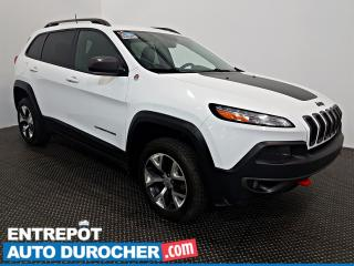 Used 2016 Jeep Cherokee Trailhawk AWD NAVIGATION  - A/C -Groupe Électrique for sale in Laval, QC