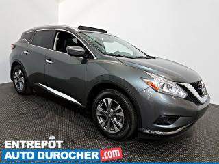 Used 2016 Nissan Murano SL - AWD - CUIR - TOIT PANORAMIQUE - NAVIGATION for sale in Laval, QC