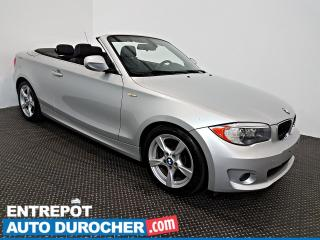 Used 2012 BMW 1 Series 128i DÉCAPOTABLE Automatique - A/C - Cuir for sale in Laval, QC
