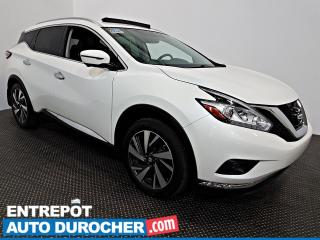Used 2016 Nissan Murano PLATINUM AWD NAVIGATION - Toit Ouvrant - A/C -Cuir for sale in Laval, QC