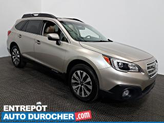 Used 2015 Subaru Outback 2.5 AWD NAVIGATION - Toit Ouvrant - A/C - Cuir for sale in Laval, QC