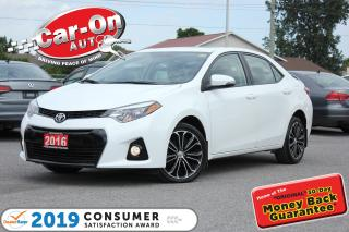 Used 2016 Toyota Corolla S SUNROOF REAR CAM HTD SEATS 47, 000 KM LOADED for sale in Ottawa, ON