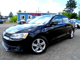 Used 2014 Volkswagen Jetta Comfortline TDI  DSG Bluetooth Sunroof Certified for sale in Guelph, ON