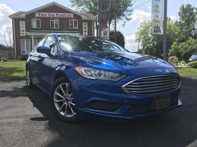2017 Ford Fusion SE 2017 Ford Fusion SE-BackupCam-Bluetooth-Alloys-PwrDrSeat-AC