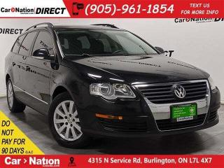 Used 2009 Volkswagen Passat Wagon 2.0T Trendline| AS-TRADED| LEATHER| for sale in Burlington, ON