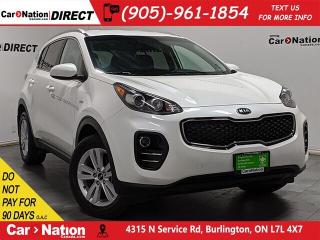 Used 2018 Kia Sportage LX| AWD| BACK UP CAMERA| HEATED SEATS| for sale in Burlington, ON