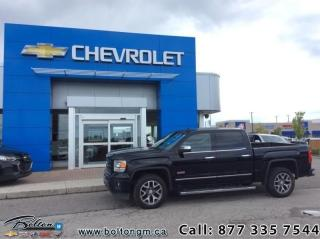 Used 2015 GMC Sierra 1500 Crew 4x4 SLE / Short Box  - $229 B/W for sale in Bolton, ON