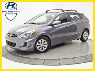 Used 2016 Hyundai Accent GL, SIÈGES CHAUFFANTS, BLUETOOTH, CRUISE for sale in Brossard, QC