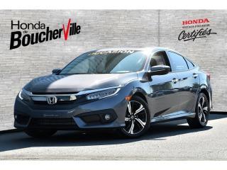 Used 2016 Honda Civic Touring Garantie complète 120, 000km ou 2021 for sale in Boucherville, QC