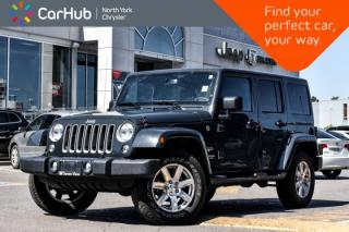 Used 2017 Jeep Wrangler Unlimited Sahara|4x4|Pwr.Conve,Connectivity.Pkgs|GPS|Bluetooth| for sale in Thornhill, ON