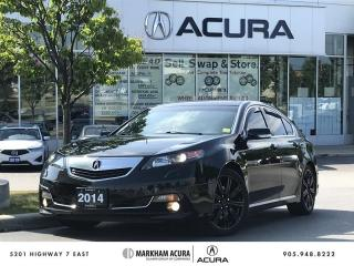 Used 2014 Acura TL A-Spec SH-AWD 3.7L V6 306 HP, Aero Kits, Tints for sale in Markham, ON