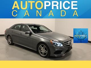 Used 2016 Mercedes-Benz E-Class AMG|NAVIGATION|PANOROOF|LEATHER for sale in Mississauga, ON