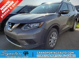 Used 2015 Nissan Rogue Traction intégrale, S, **pas d'accident* for sale in Rivière-Du-Loup, QC