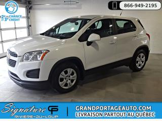 Used 2014 Chevrolet Trax LS FWD MANUELLE *1 PROPRIO* for sale in Rivière-Du-Loup, QC