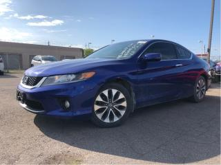 Used 2015 Honda Accord Coupe EX-L | Nav | Leather | Sunroof| Coupe for sale in St Catharines, ON