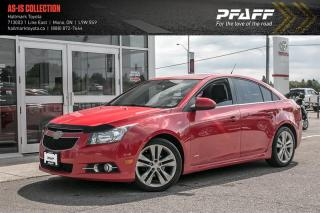 Used 2012 Chevrolet Cruze LT Turbo for sale in Orangeville, ON