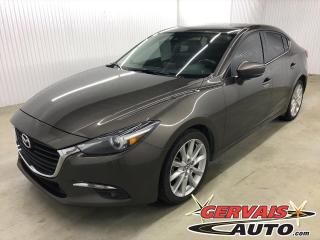 Used 2017 Mazda MAZDA3 GT GPS TOIT OUVRANT CAMÉRA MAGS for sale in Shawinigan, QC
