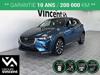 Used 2019 Mazda CX-3 GT AWD **GARANTIE 10 ANS** Comme neuf! for sale in Shawinigan, QC