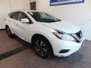 Used 2016 Nissan Murano PLATINUM AWD LEATHER NAVI SUNROOF for sale in Listowel, ON
